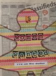 Women Wanted, Binders Full of Women, Mixed Media Installation.