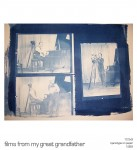 Cyanotypes (Using Film from my Great-Grandather Carlton Stevens)