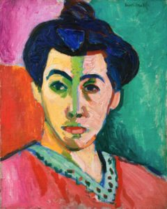"Henri Matisse ""The Green Stripe"" AKA ""Portrait of Madame Matisse"