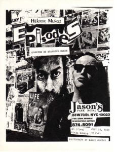 """The Face"", flyer"